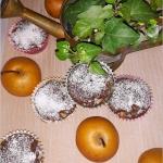 Kakaowe muffinki nadziane...