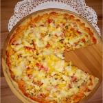 Domowa pizza na grubym...