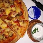 Prosta sylwestrowa pizza...