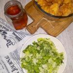 Zielona surowka do obiadu...