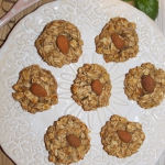Zdrowe owsiane ciasteczka...