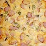 Pizza wiejska (z kielbasa...