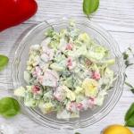 Szybka salatka obiadowa z...