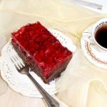 Ciasto czekoladowe z owoc...