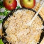 Szybki ryż z jabłkami...