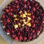 Tarta z owocami z kremem...