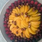 Tarta z owocami i musem...