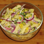 Wiosenna salatka z ananas...