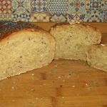 Chleb z surowymi ziemniak...