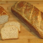 chleb z zakwasem z ogorko...