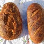 Chrupiący chleb z bio...