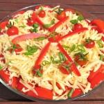 Sałatka pomidorowo...