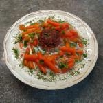 Zupa marchwiowa z klopsem