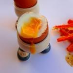 Frytki z marchewki z jajk...