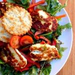 Salatka z grillowanego ha...