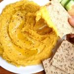 Hummus z dyni, bogactwo w...