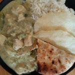Zielone curry z...