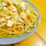 Szybkie spaghetti z losos...