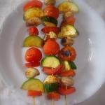 Szaszłyki warzywne