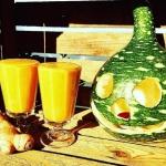 woda kokosowa + dynia + b...