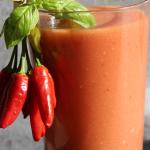 pomidory + ogorki + czosn...