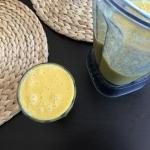 mango + mleko migdałowe...