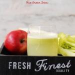 seler naciowy + jablko
