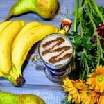 gruszka + banan + mleko...