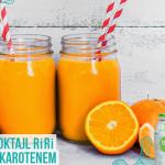 pomarancza + woda kokosow...