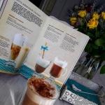 kawa + mleko migdałowe...