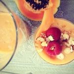 papaja + banan + pomaranc...