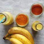 banan + ananas + kurkuma...