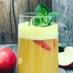 jablko + imbir + limonka ...