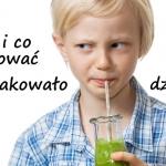 Zielone koktajle dla dzie...