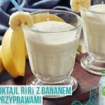 banan + woda kokosowa +...