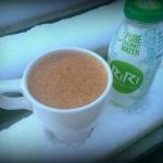 woda kokosowa + kakao + b...