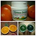 pomarańcze + green detox