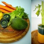 mango + trawa pszeniczna...