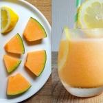 melon + cytryna + woda...