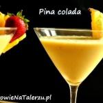 ananas + mleko kokosowe +...