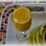 mango + banan + woda...