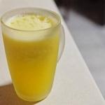 żółty arbuz + woda...