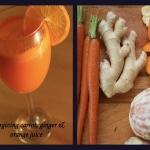 marchewka + pomarańcza...