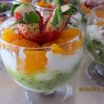 Owocowy deser z...