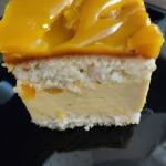 Ciasto z musem z mango