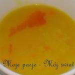 Zupa dyniowa z mlekiem...