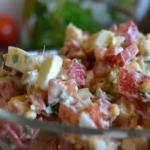 Salatka ze sledziem