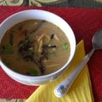 Zupa grzybowa i krokiety