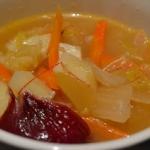 Zupa z kimichi