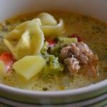 Zupa z kurczakiem gyros